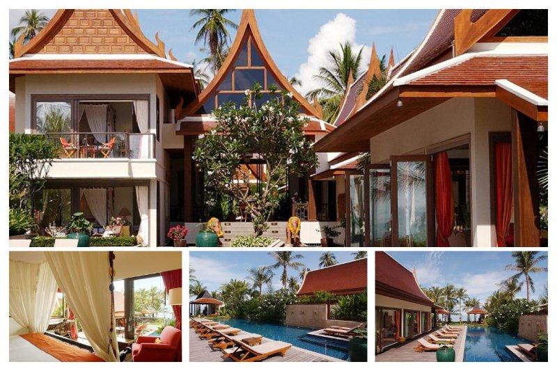 Lipa Noi 3147 -Luxury Beachfront with Chef Service - Image 1 - Lipa Noi - rentals