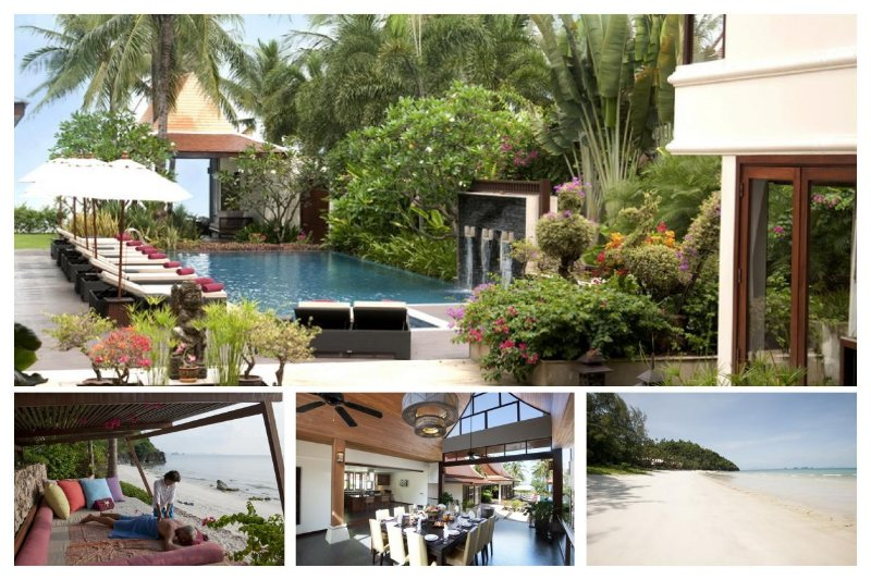 Lipa Noi 2148 -Luxury Beachfront with Chef Service - Image 1 - Lipa Noi - rentals