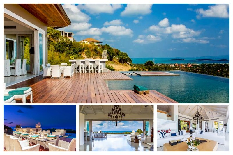 Choeng Mon 4078 - Luxury Seaview With Chef Service - Image 1 - Bophut - rentals