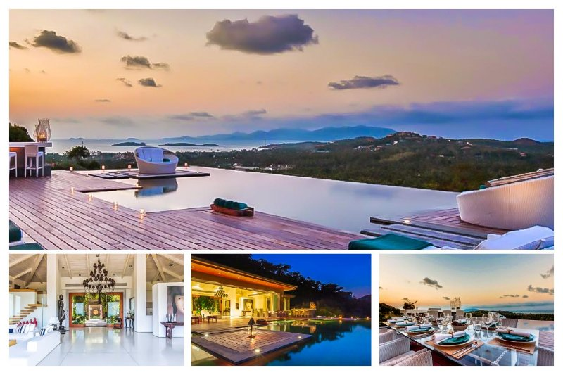 Choeng Mon 2078 - Luxury Seaview With Chef Service - Image 1 - Bophut - rentals