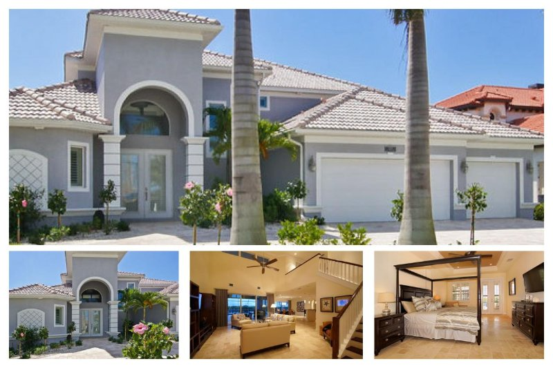Amazing vacation home- 4 stylish bedrooms- Large pool & spa- Magnificent views- Private dock - Image 1 - Saint James City - rentals