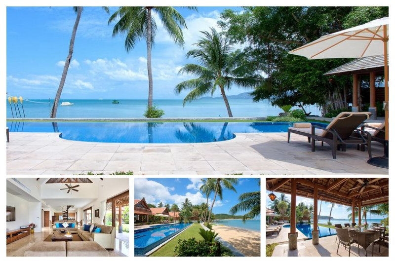 Lipa Noi 3025 -Luxury Beachfront with Chef Service - Image 1 - Lipa Noi - rentals