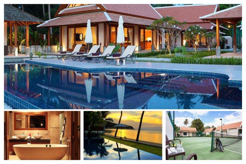 Lipa Noi 3027 -Luxury Beachfront with Chef Service - Image 1 - Lipa Noi - rentals
