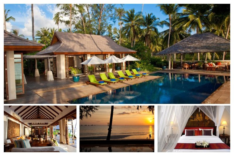 Lipa Noi 3153 -Luxury Beachfront with Chef Service - Image 1 - Lipa Noi - rentals