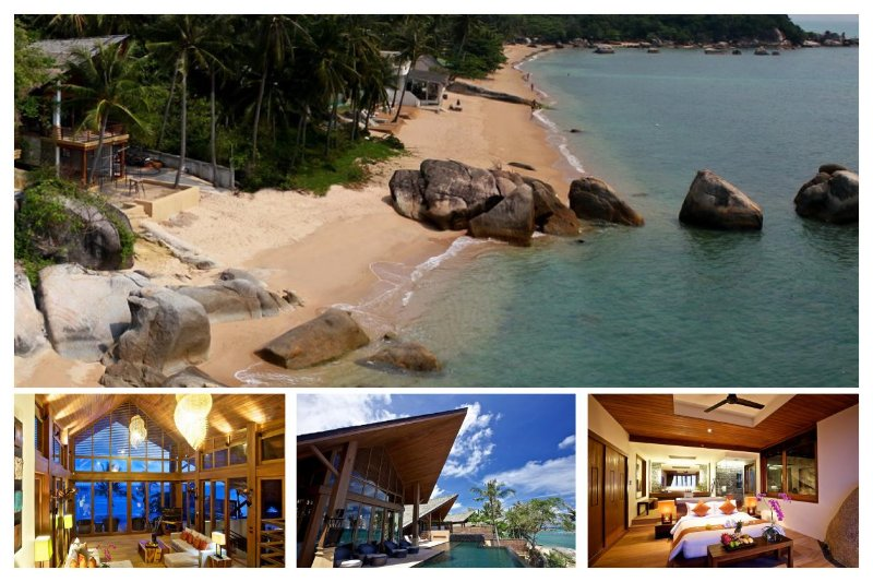 Lamai 4144 - Luxury Beachfront with Chef Service - Image 1 - Lamai Beach - rentals