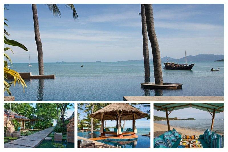 Bangrak 7049 - Luxury Beachfront With Chef Service - Image 1 - Bophut - rentals