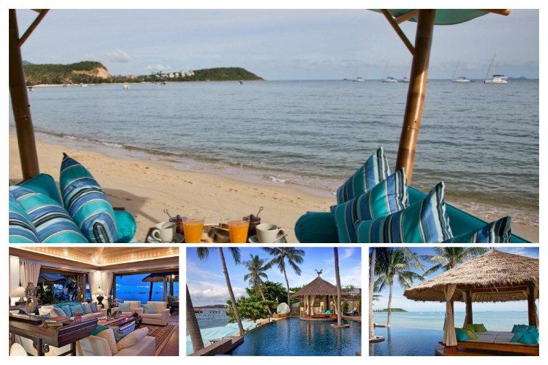 Bangrak 6049 - Luxury Beachfront With Chef Service - Image 1 - Bophut - rentals