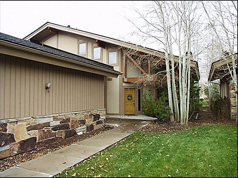 Exterior of Townhome - Large, Open Townhome with Views - Quiet Setting , (2072) - Park City - rentals