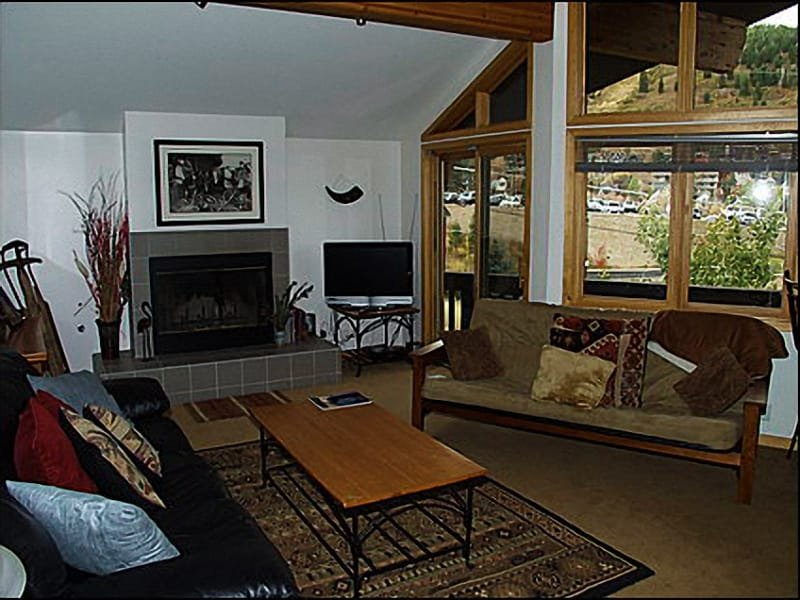 Living Area Overlooking Old Town - Incredible Old Town Location - Across Street from the Transit Center (2314) - Park City - rentals