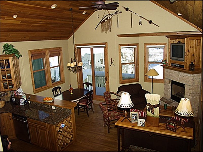 Main Living Area - Views of Old Town, Custom Furnishings - Single Family Home - Walk to Main Street (2366) - Park City - rentals