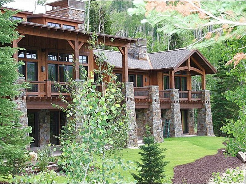 Incredible, Custom Built Home - 360-Degree Mountain Views - Just 30 Minutes from Salt Lake Airport (24670) - Park City - rentals