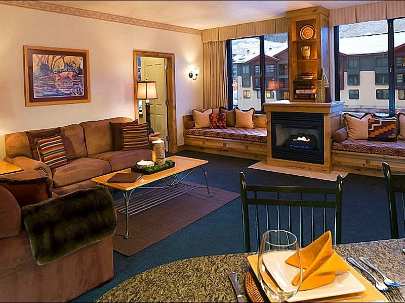 Spacious Living Room - Representative Unit - Great in the Winter and Summer - High End Amenities (24730) - Park City - rentals