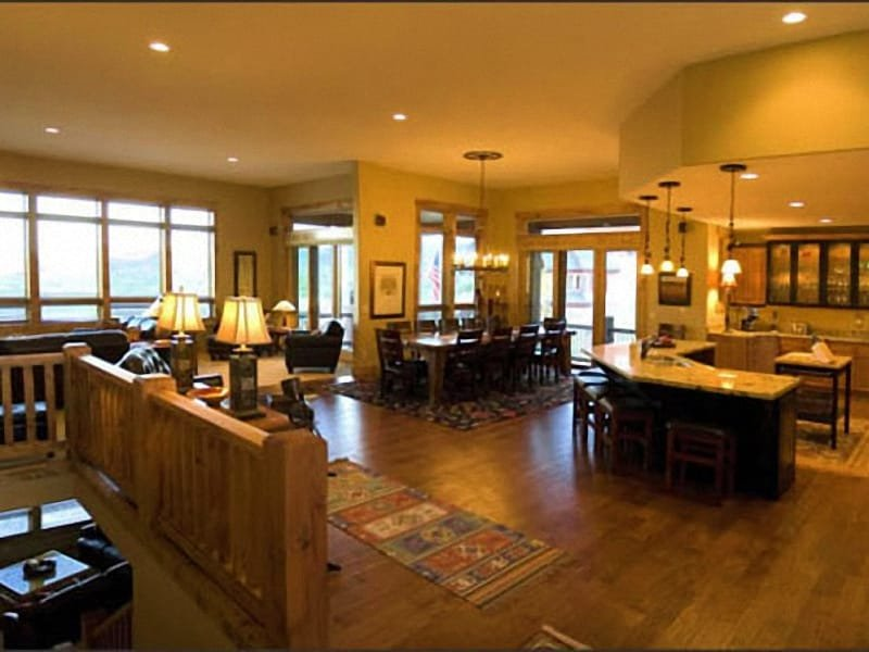 Expansive Great Room is Ideal for Entertaining Large Groups - Ski Enthusiast's Dream Home - Stunning Slope & Mountain Views (24741) - Park City - rentals