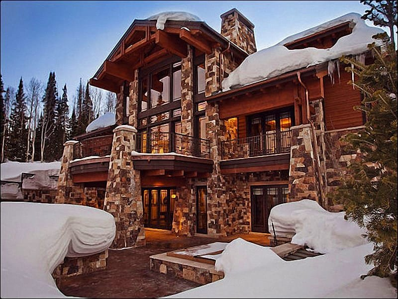 Stunning Views of Deer Valley, Park City, and the Unita Mountain Range - Breathtaking Views of Unita Mountain Range - Luxurious First Class Design & Amenities (24782) - Park City - rentals