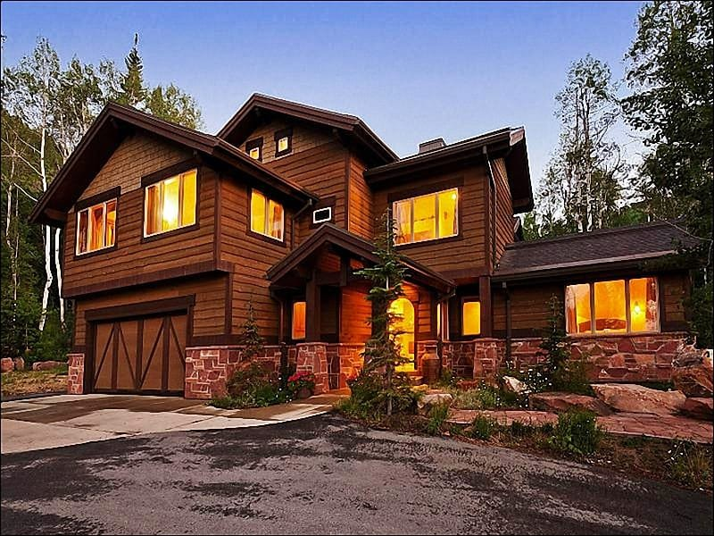 Stunning Slopeside Home - Luxury Home on 5 Acres - Peaceful & Secluded Setting (24901) - Park City - rentals