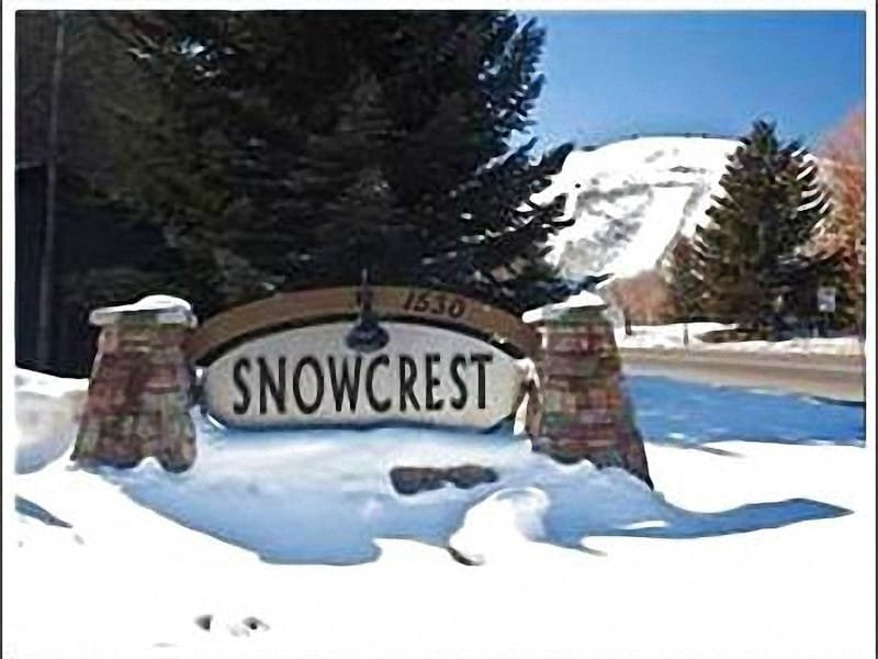 Entrance To The Complex - Beautiful Vacation Condo - One Block from the Shuttle Stop (25124) - Park City - rentals