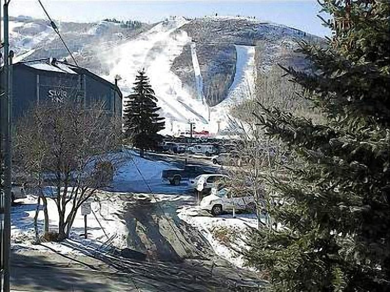 Exterior Mountain View - Beautiful Vacation Condo - One Block from the Shuttle Stop (25128) - Park City - rentals