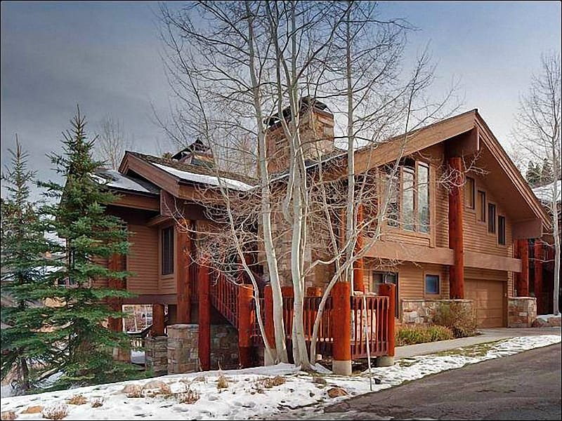 Opulent and Expansive Vacation Home - Largest Free-Standing Home in Aspen Hollow - Beautiful Wooded Setting  (25337) - Park City - rentals