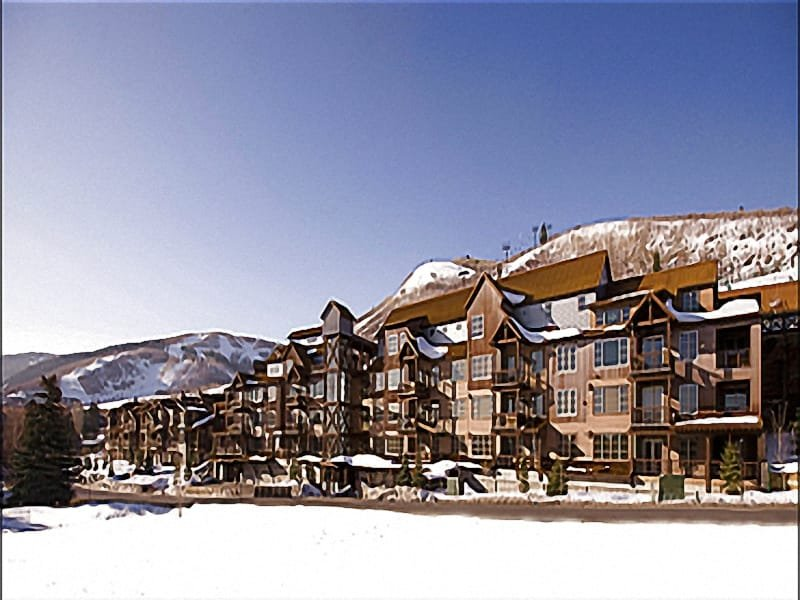 Exterior View - Shared Outdoor Heated Pool and Hot Tub - Beautiful Views of the Mountains (25342) - Park City - rentals