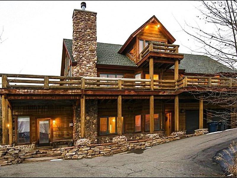 Front Exterior - Exquisite Mountain  Views - Enjoy Exclusive Club Lespri  Amenities  (25350) - Park City - rentals