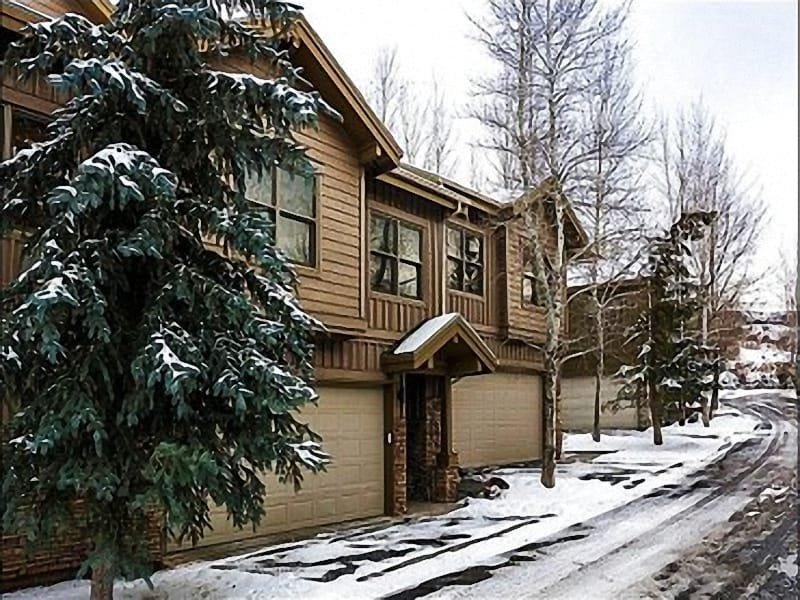 Exterior View - Located in a Quiet Complex in Park City - Private Hot Tub (25353) - Park City - rentals