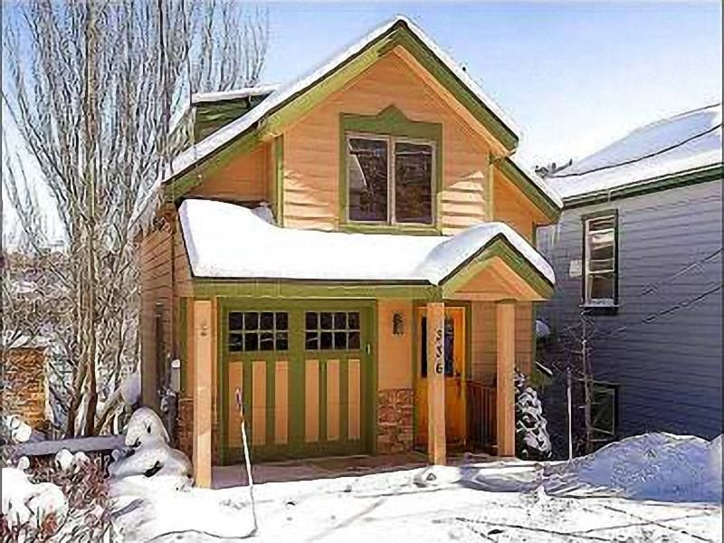 Winter Exterior - Convenient to All of Historic Mainstreet - Fireplace in Master Bedroom (25404) - Park City - rentals