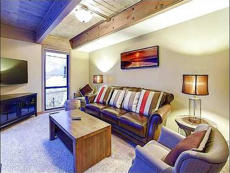 Living Room with  Gas Fireplace, 46 Inch HDTV, DVD/VCR and CD/Stereo - Great for Family Gatherings - Two Living Areas with Fire Places (25406) - Park City - rentals