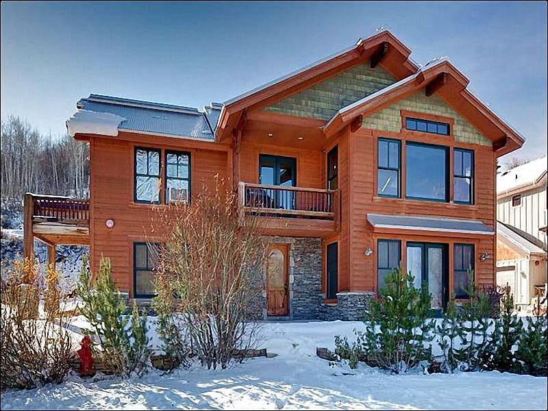 Exterior View - Just a Quick Walk to Historic Main Street  - Private Outdoor Hot Tub (25447) - Park City - rentals