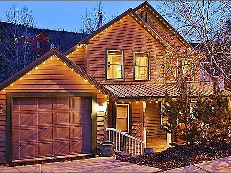 Beautiful Home Exterior - In the Historic Main Street District - Private Deck Near Natural Stream (25478) - Park City - rentals