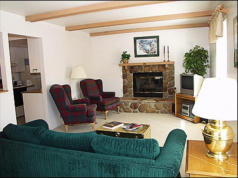 Living Room - Fireplace - Great Location & Value - Close to Historic Main Street (3805) - Park City - rentals