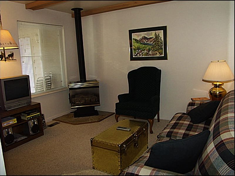Living Room - Fireplace - Conveniently Located - Stroll to Historic Main Street (3809) - Park City - rentals