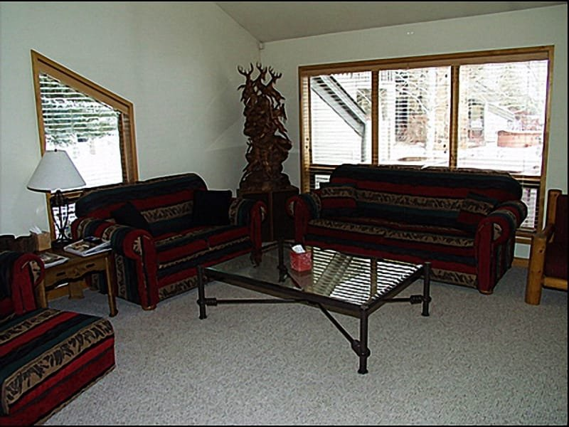 Living Room - Beautiful Lake and Mountain Views - Close to Historic Main Street (7026) - Park City - rentals