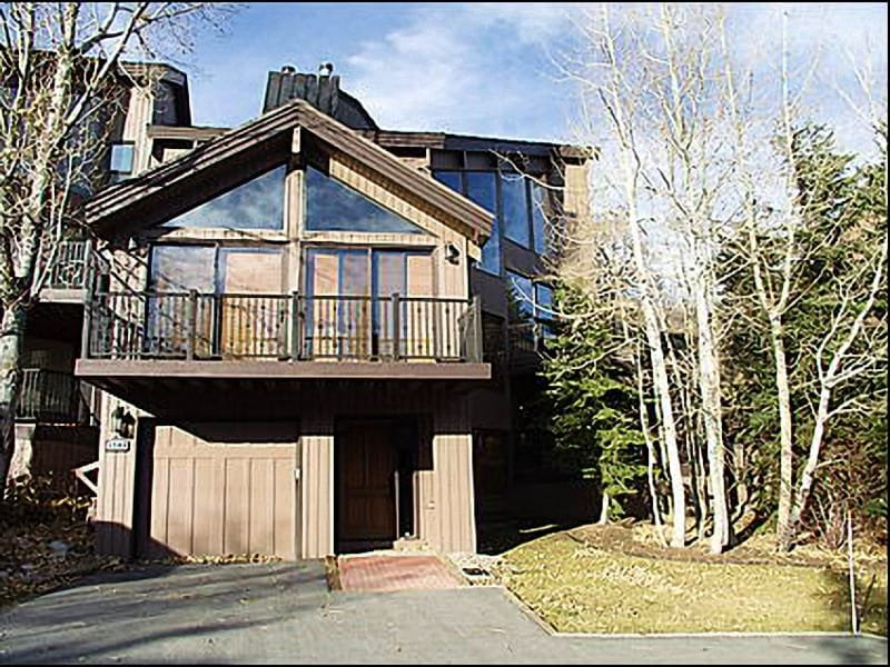 Large Townhome with Single Car Garage - Great Slope Views - Beautiful Townhouse (7998) - Park City - rentals