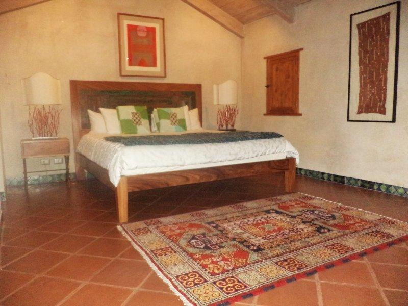 Master bedroom - Luxury Apartments in The Heart of Colonial Antigua - Antigua Guatemala - rentals