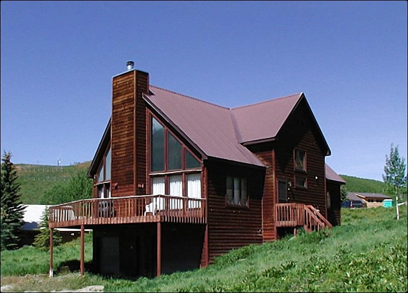 Cozy and Inviting Retreat - Classic A-Frame Style Mountain Home - Amazing Mountain Views (1388) - Crested Butte - rentals