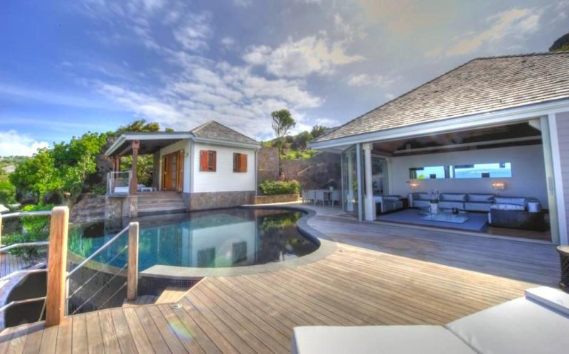 Luxury 6 bedroom St. Barts villa. Private beach and gazebo! - Image 1 - Petit Cul de Sac - rentals