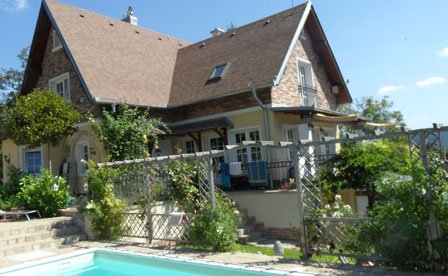 Family Cottage with saltwater pool - Image 1 - Sturovo - rentals
