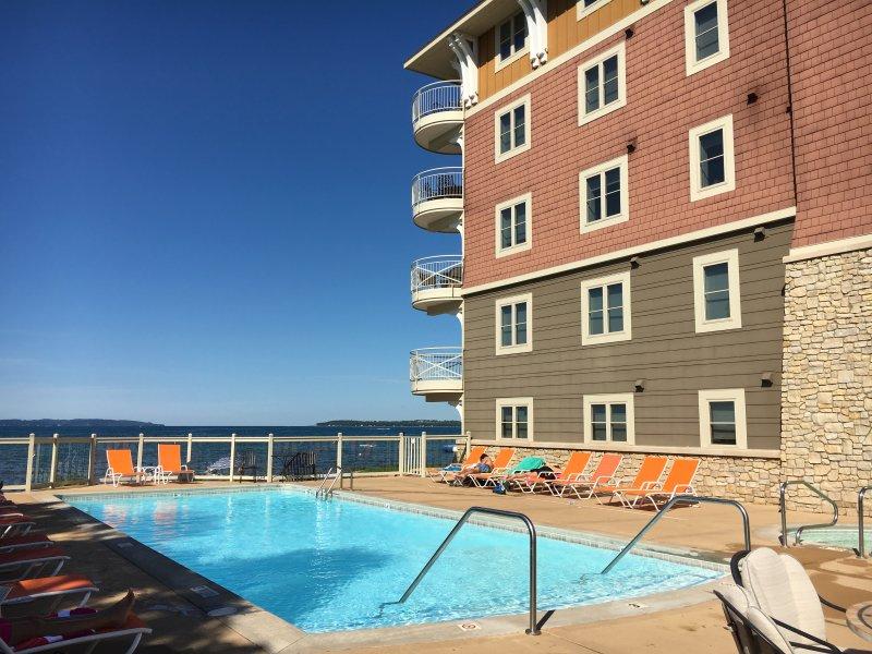 Peninsula Bay Resort Condo.  Grand Traverse Bay! - Image 1 - Traverse City - rentals