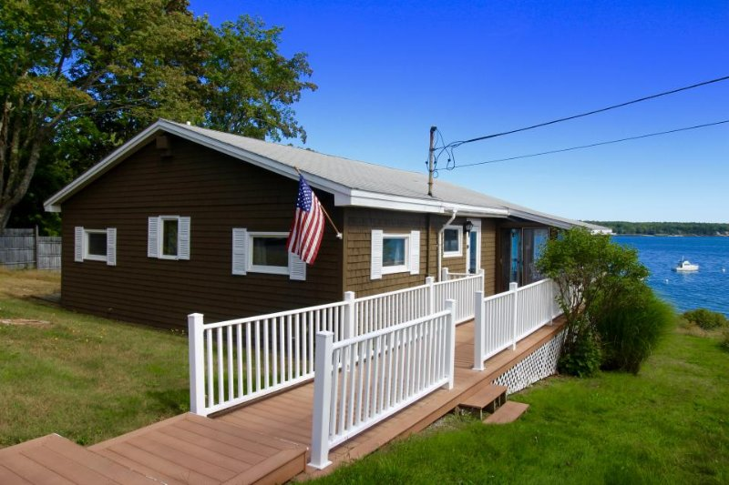 A stunning oceanfront property, just a short drive from Acadia & Bar Harbor! - Image 1 - Lamoine - rentals