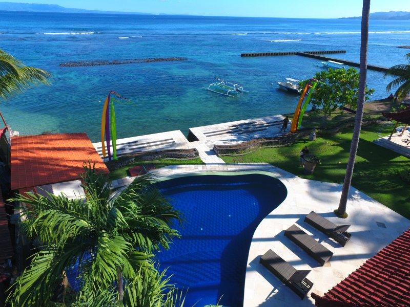 Candidasa Seaview, Villa rama, East Bali - Image 1 - Candidasa - rentals
