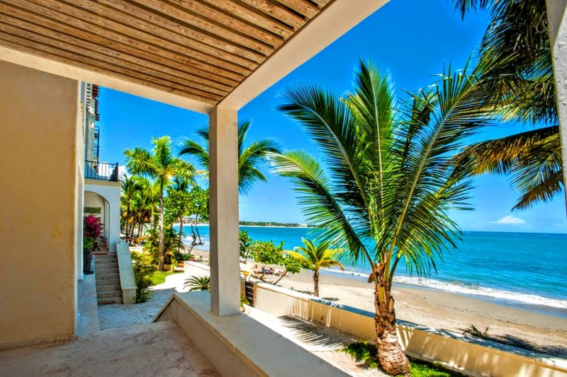 original view from terrace - Luxury Beachfront Condo in Cabarete - Cabarete - rentals