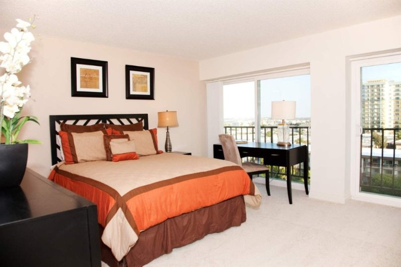 Furnished 1-Bedroom Apartment at Washington Blvd & Clune Ave Los Angeles - Image 1 - Marina del Rey - rentals
