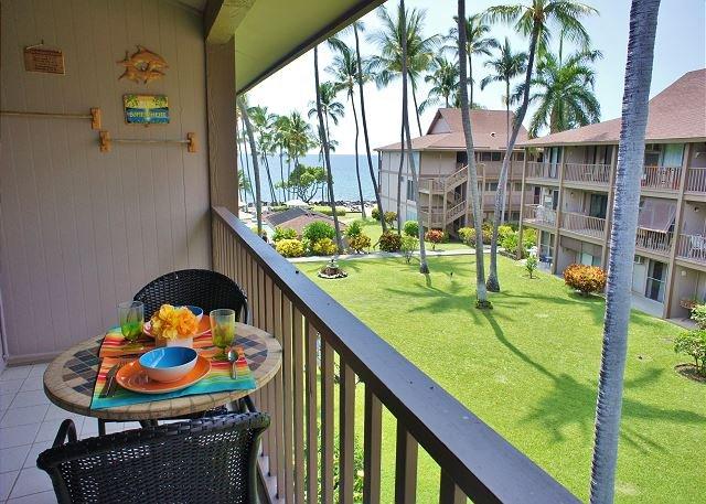 Lanai with Ocean View - Amazing Ocean Front Condo Complex, Ocean View unit with private lanai. - Kailua-Kona - rentals