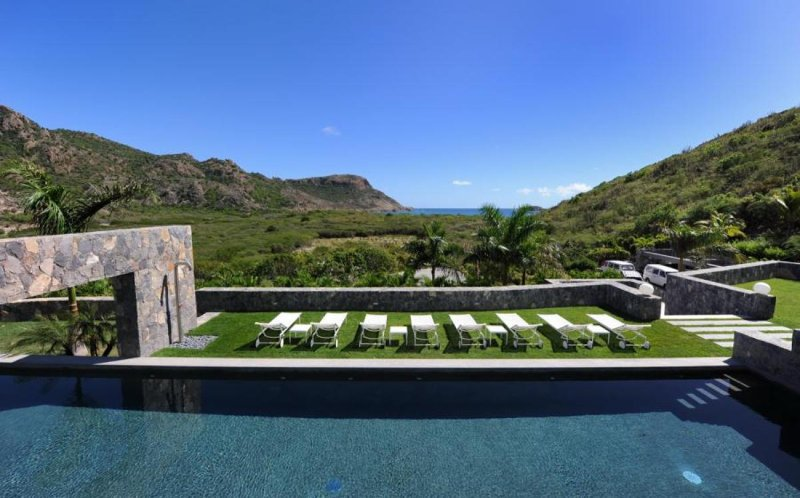 Luxury 6 bedroom St. Barts villa. Extremely private! The Amenities. - Image 1 - Grande Saline - rentals
