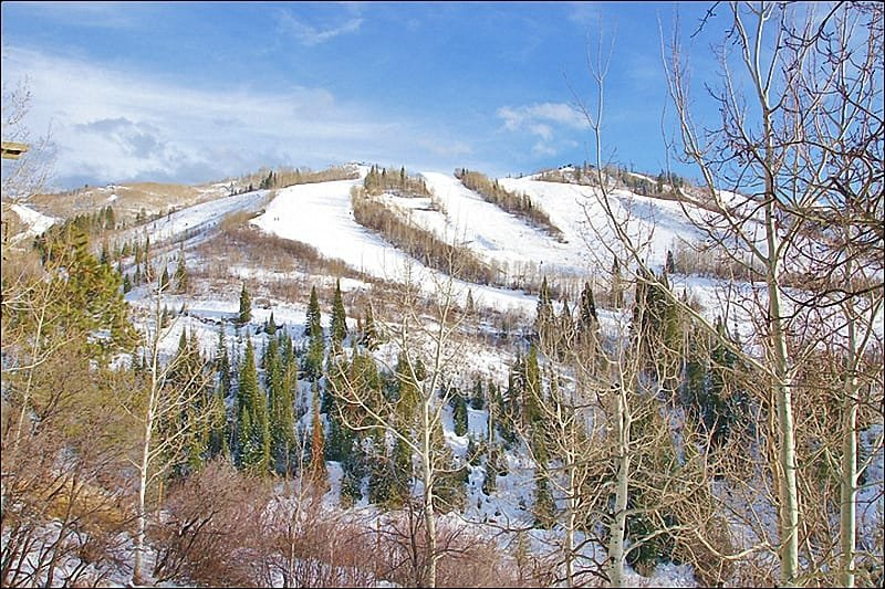 This Amazing Ski Slope view is from this wraparound balcony. - Ski In Ski Out, Remodeled 2008 - Great Slope View, Easy Access (5295) - Steamboat Springs - rentals