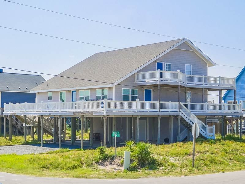 SALTY DAWGS & ROLLING TIDES - Image 1 - Topsail Beach - rentals