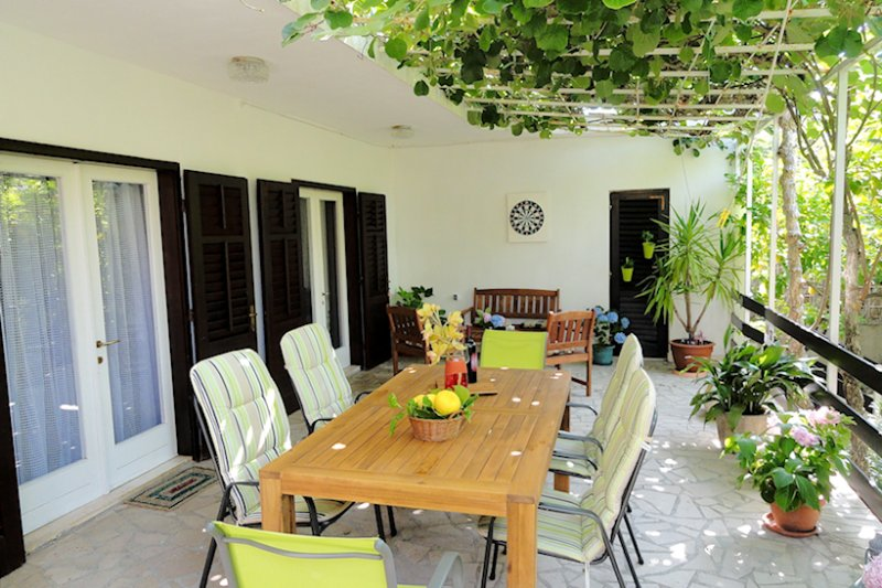 Terrace - Holiday home  Karmen - Orebic - rentals