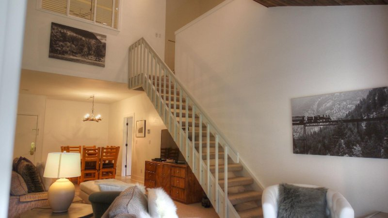 "SkyRun Property - ""FP304 Foxpine Inn"" - Staircase View - FP304 Foxpine Inn - Copper Mountain - rentals"