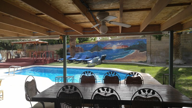 Patio and pool - Home Away From Home - Las Vegas - rentals
