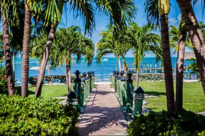 Path to private beach and marina area. - **Spring Promo** Family Friendly Executive Bay Townhome with Beach & Pool - Islamorada - rentals